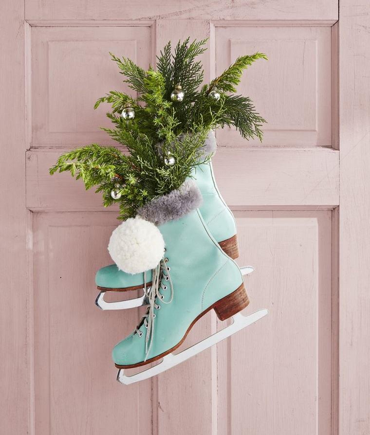 decoraciones-navidenas-para-puertas-patines