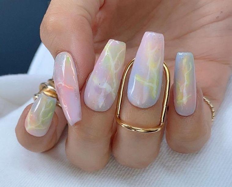 diseño de uñas ataud 2021