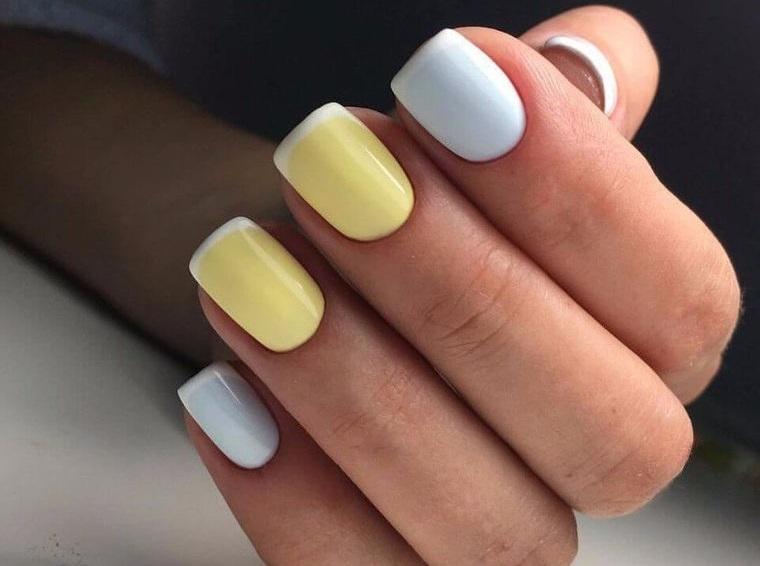 diseño de uñas colores pasteles 2021