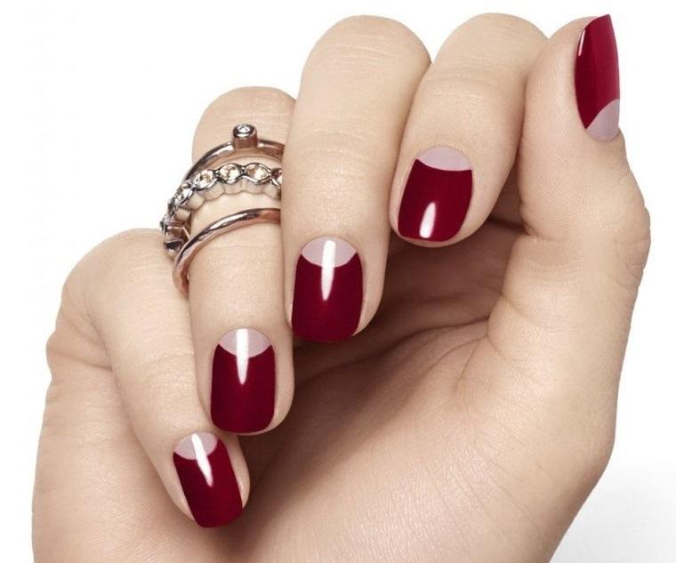 diseño de uñas elegante manicura 2021