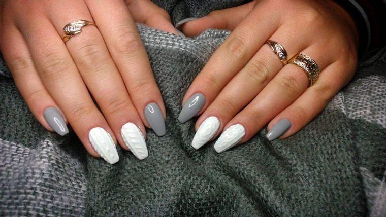 diseño de uñas invierno