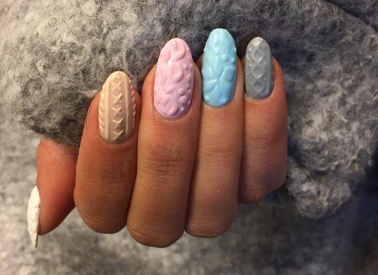 diseño de uñas llamativos