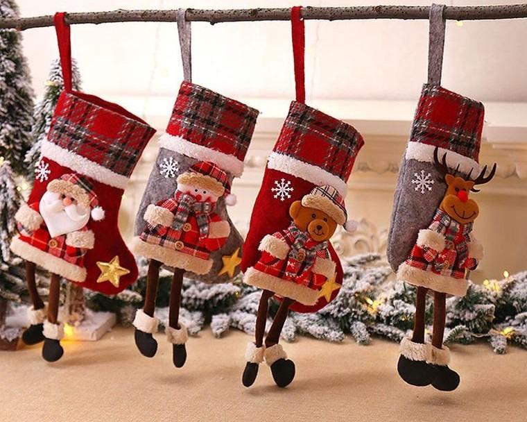 dormitorios infantiles calcetines navideños