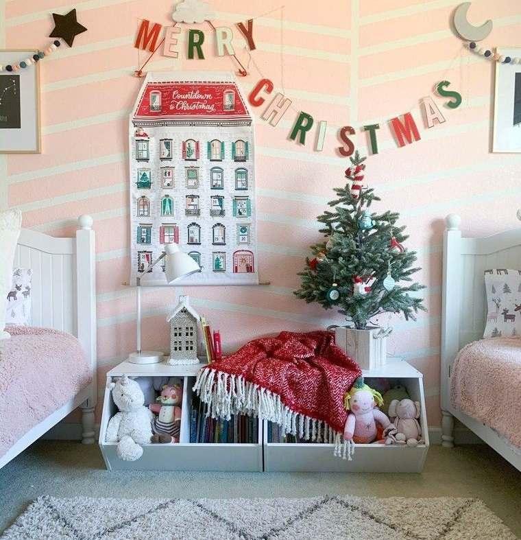 dormitorios infantiles calendario de adviento