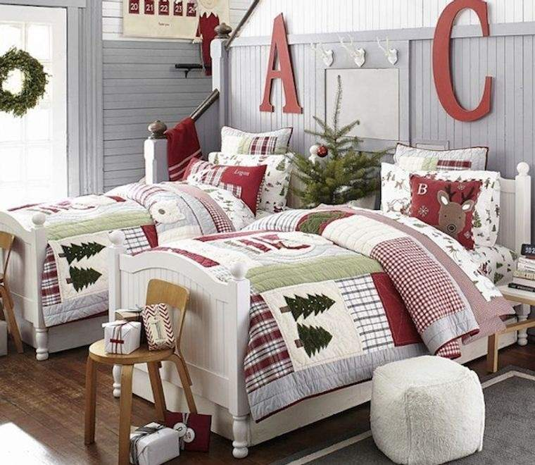 dormitorios infantiles con arbol corona