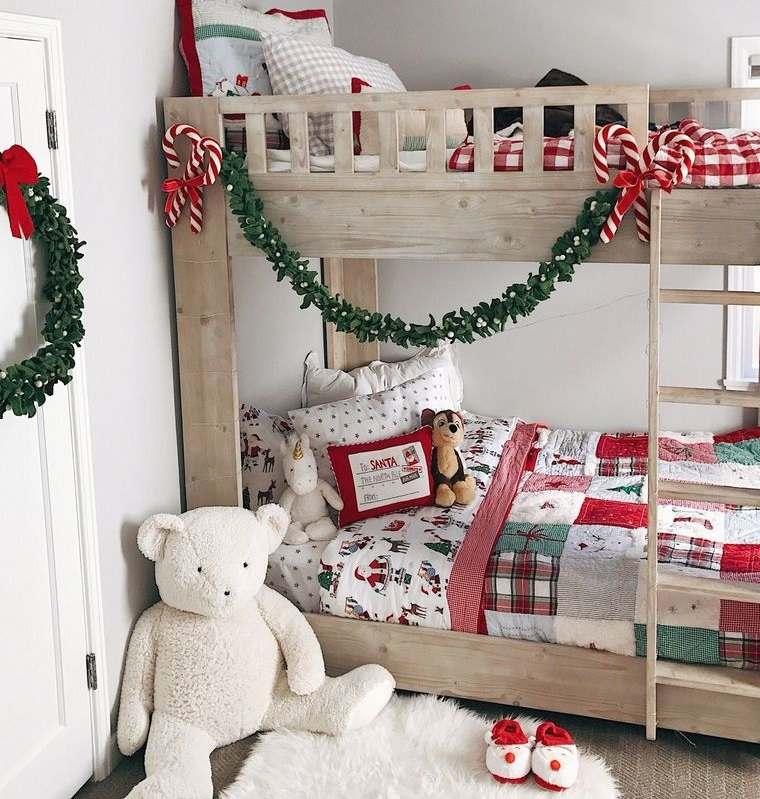 dormitorios infantiles con guirnaldas