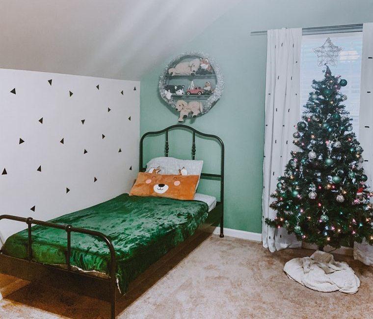 dormitorios infantiles decoracion para navidad