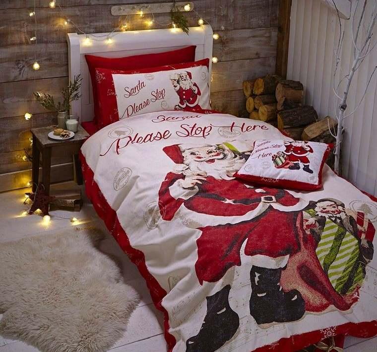 dormitorios infantiles luces navideñas