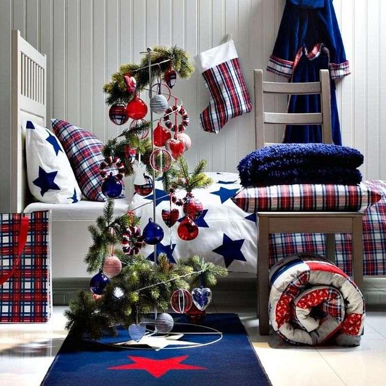 dormitorios infantiles navidad moderna