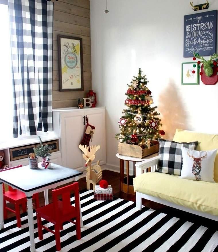 dormitorios infantiles temporada navideña