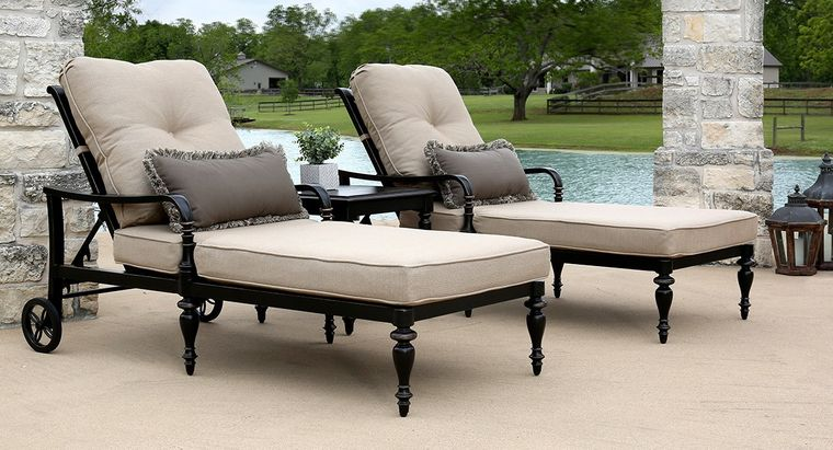 mobiliario elegante tumbonas
