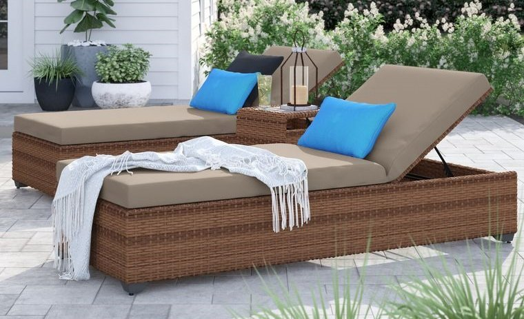 mobiliario exterior tumbona