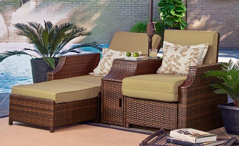 mobiliario versatil para exterior