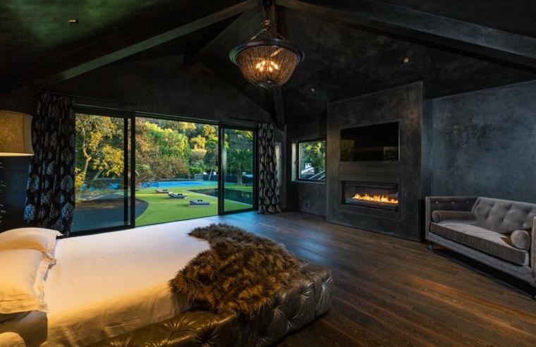 paredes de cristal-dormitorio-diseno-oscuro-ideas