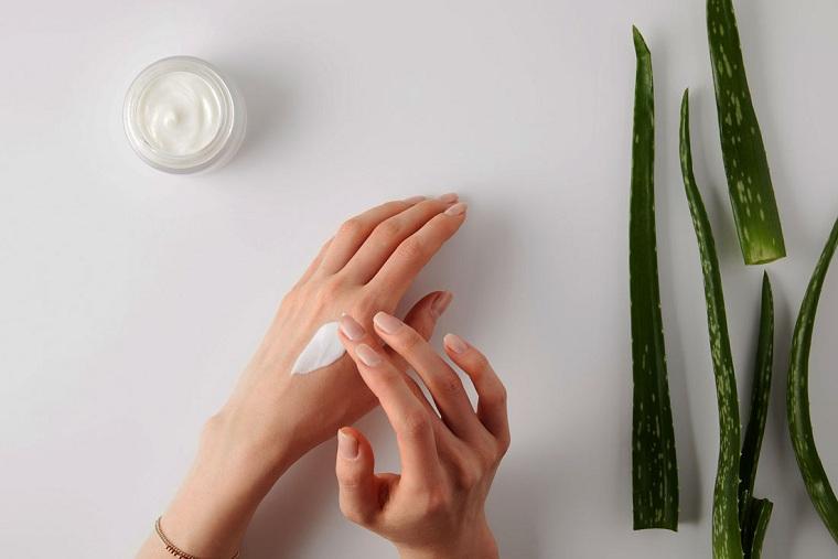 Problemas de la piel cuidado-pomadas