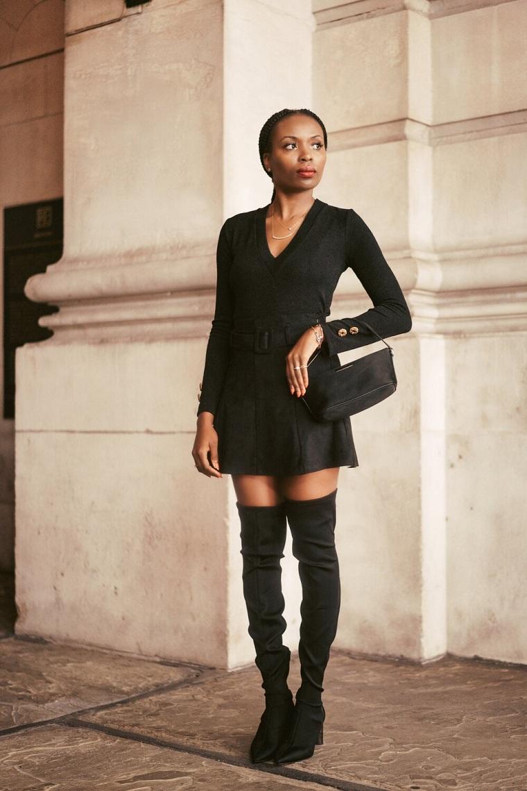 ropa negra-vestido-opciones
