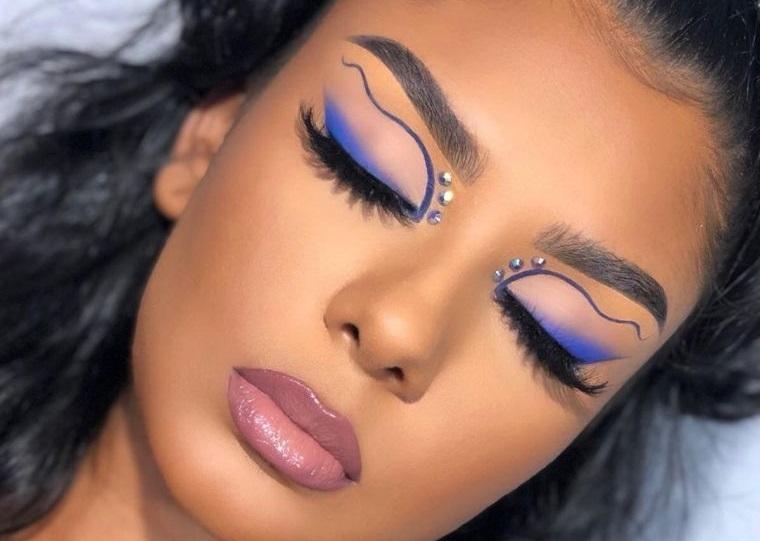 tipos de maquillaje diferentes delineados