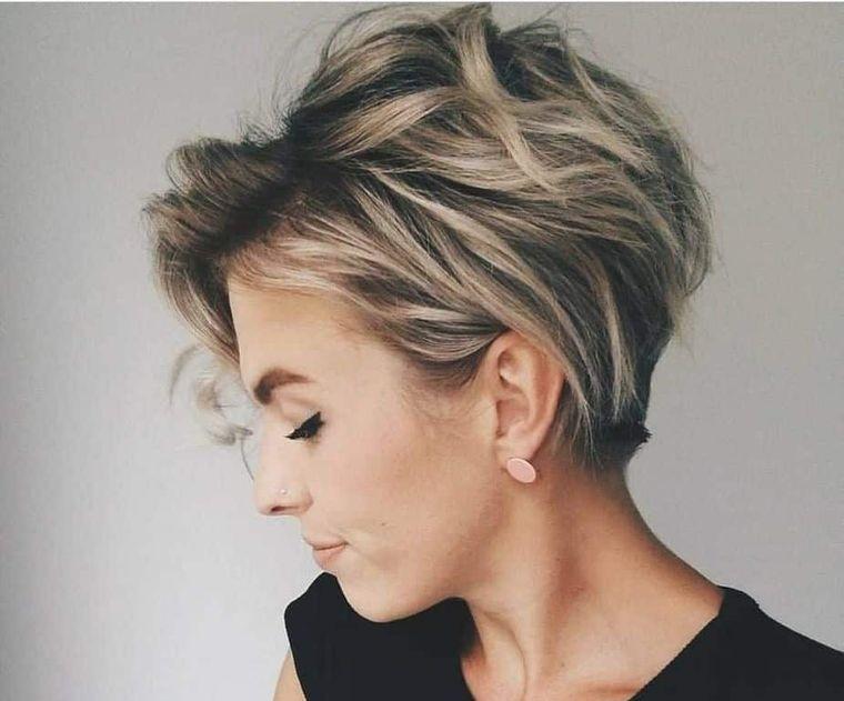 tipos de peinados mujer elegante