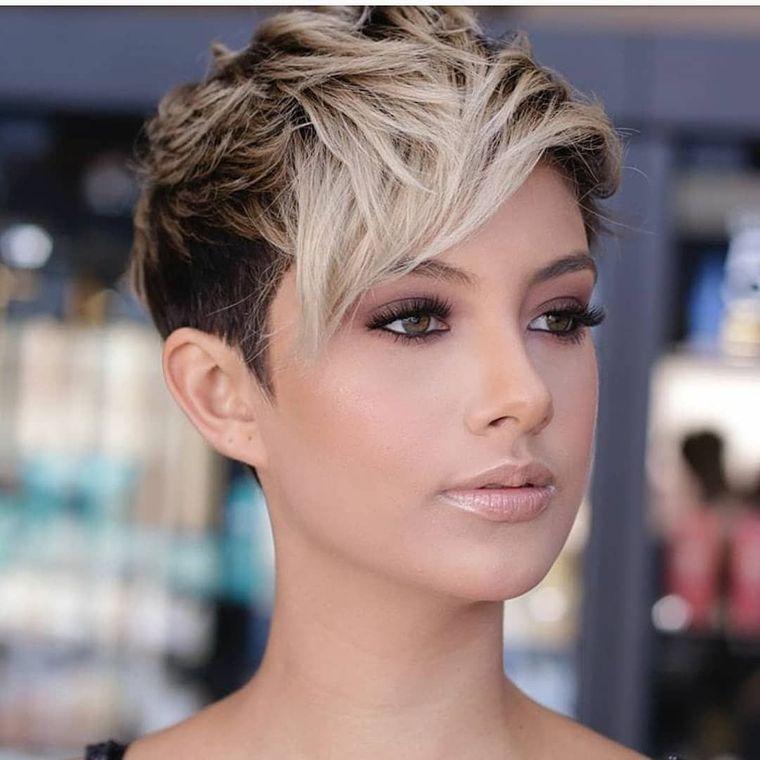tipos de peinados mujer pixie