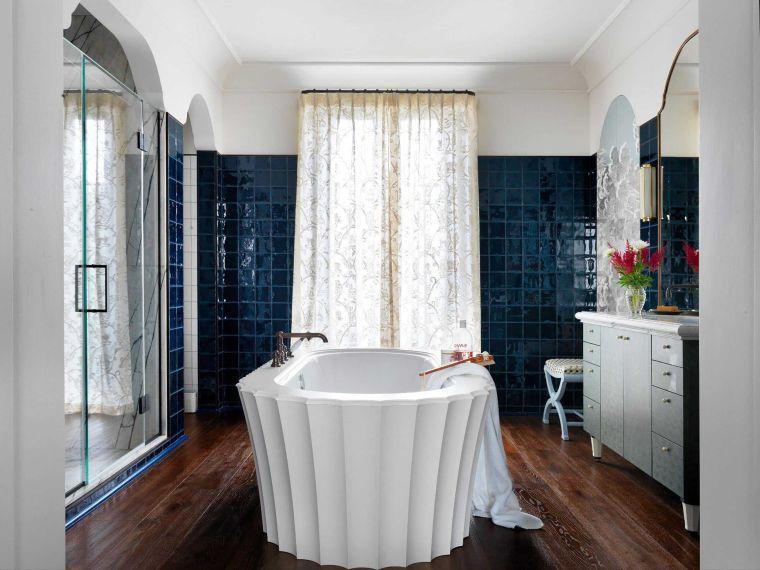 muebles de baño modernos-2021-banera-ideas