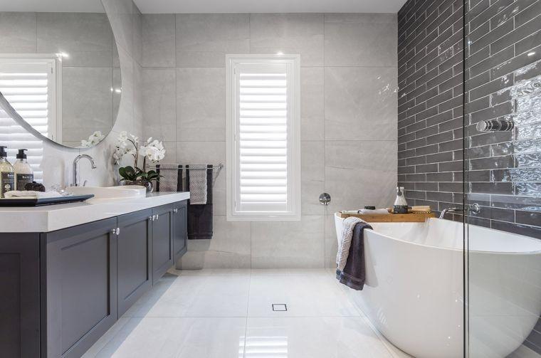 muebles de baño modernos-2021-color-gris