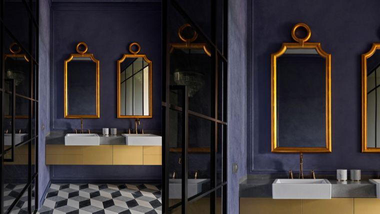 muebles de baño modernos 2021-colores-oscuros