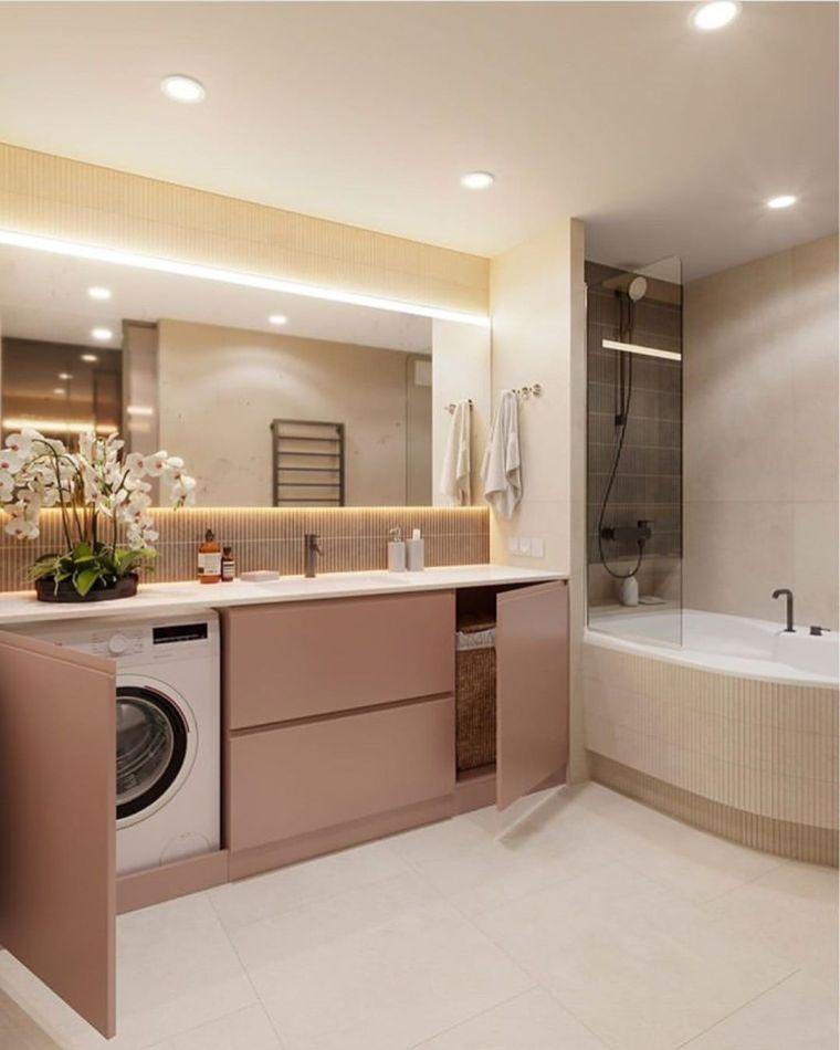 muebles de baño modernos-2021-colores