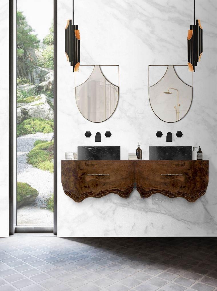 Muebles-de-baño-modernos-2021-lavabos-colgantes