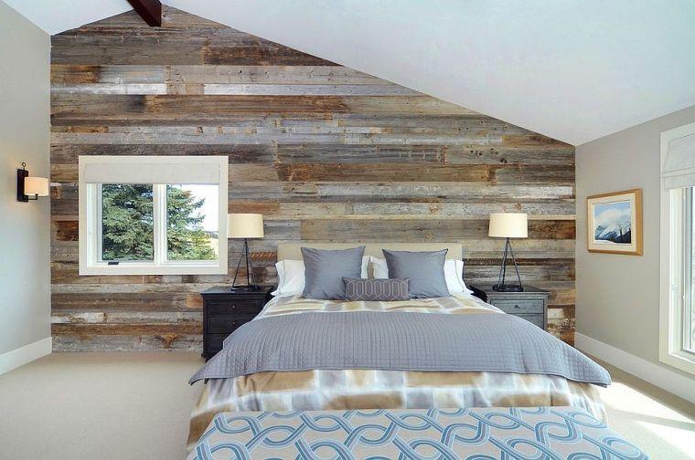 Paneles de madera para paredes interiores amplios