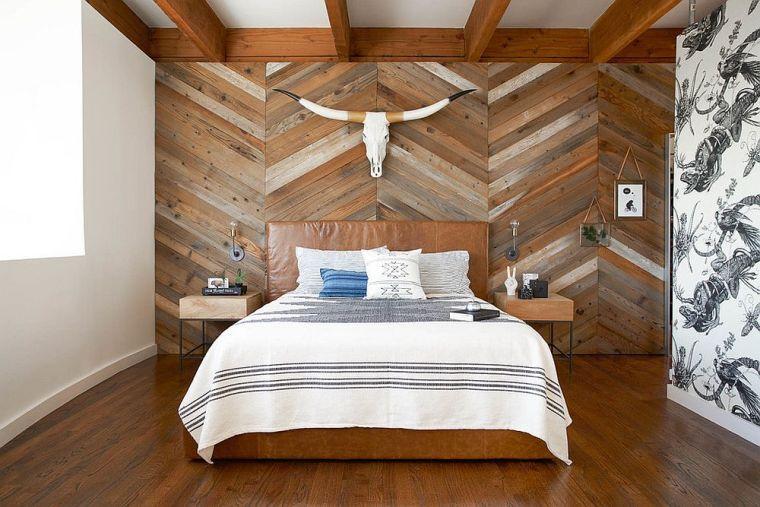 Paneles de madera para paredes interiores-ideas