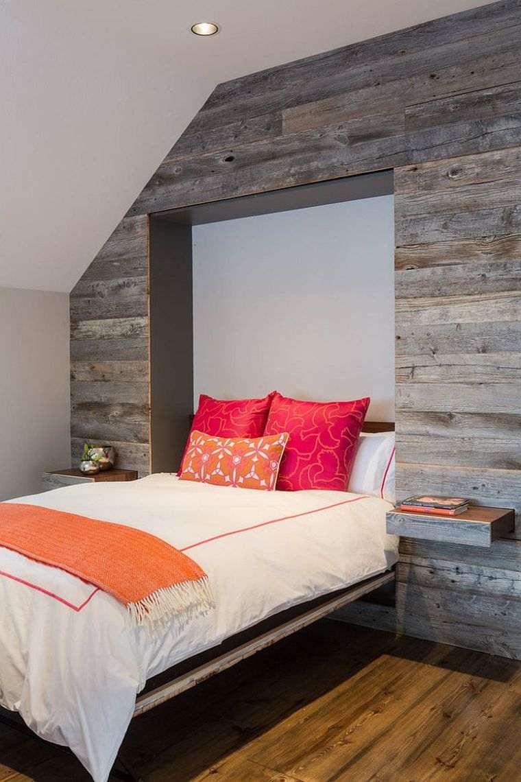 Paneles de madera para paredes interiores opciones-originales