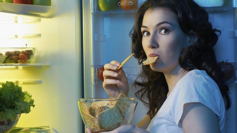 alimentación saludable nocturna