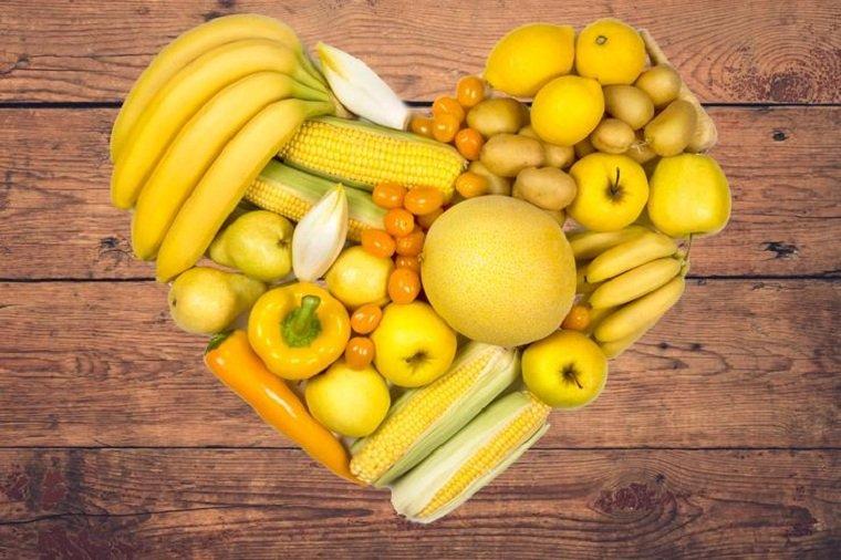 alimentos naranjas-amarillos-ideas