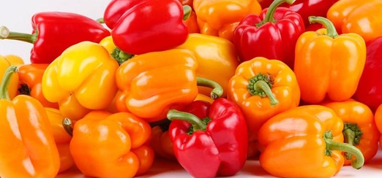 alimentos naranjas-amarillos-pimiento-amarillo