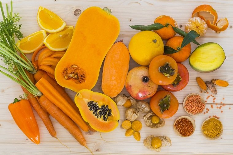alimentos naranjas-amarillos-saludables