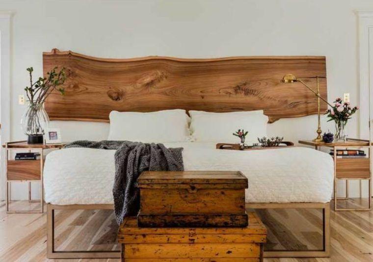 Cabeceros de cama de madera con bordes vivos 2021 – Diseños personalizados