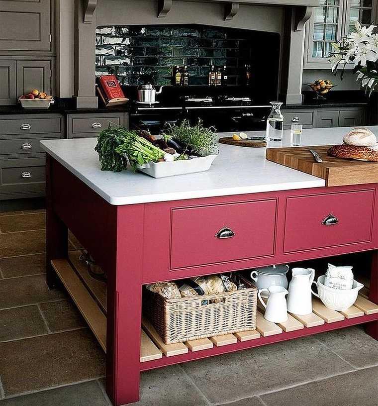 cocinas modernas con contraste