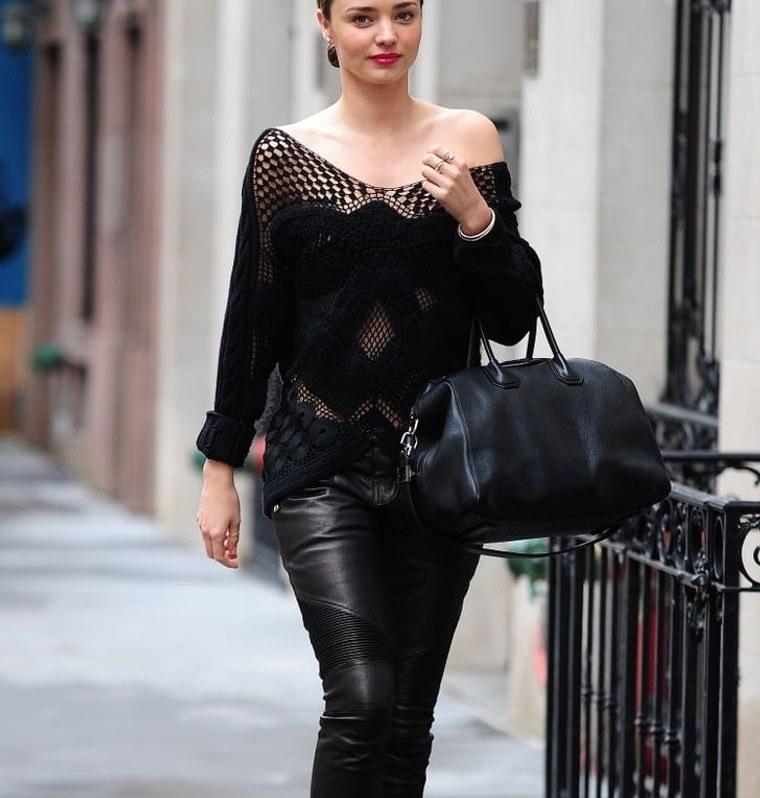 color negro imponente en moda