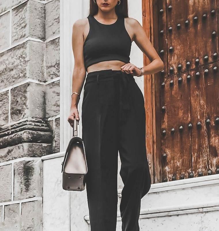 color negro para verano