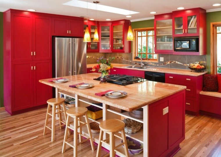 color-rojo-isla-ideas