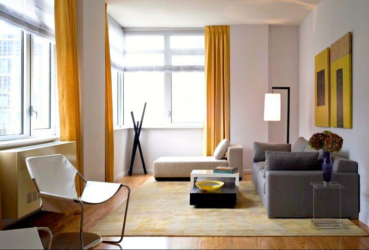 colores amarillo gris elementos decorativos