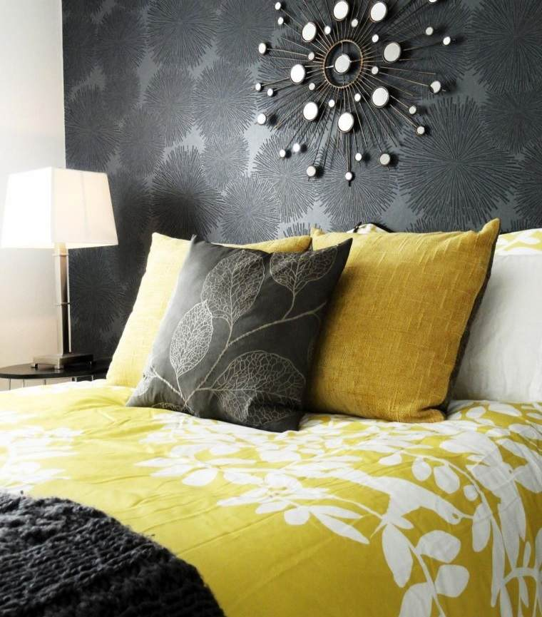 colores amarillo gris tonos fuertes