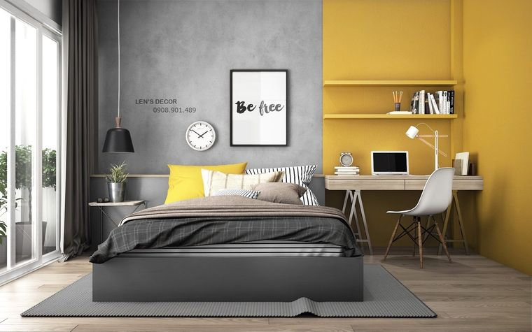 colores amarillo gris