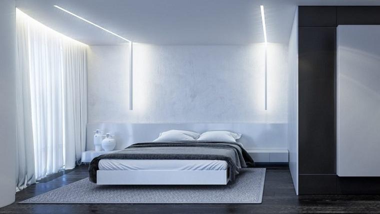 dormitorio-blanco-negro-ideas