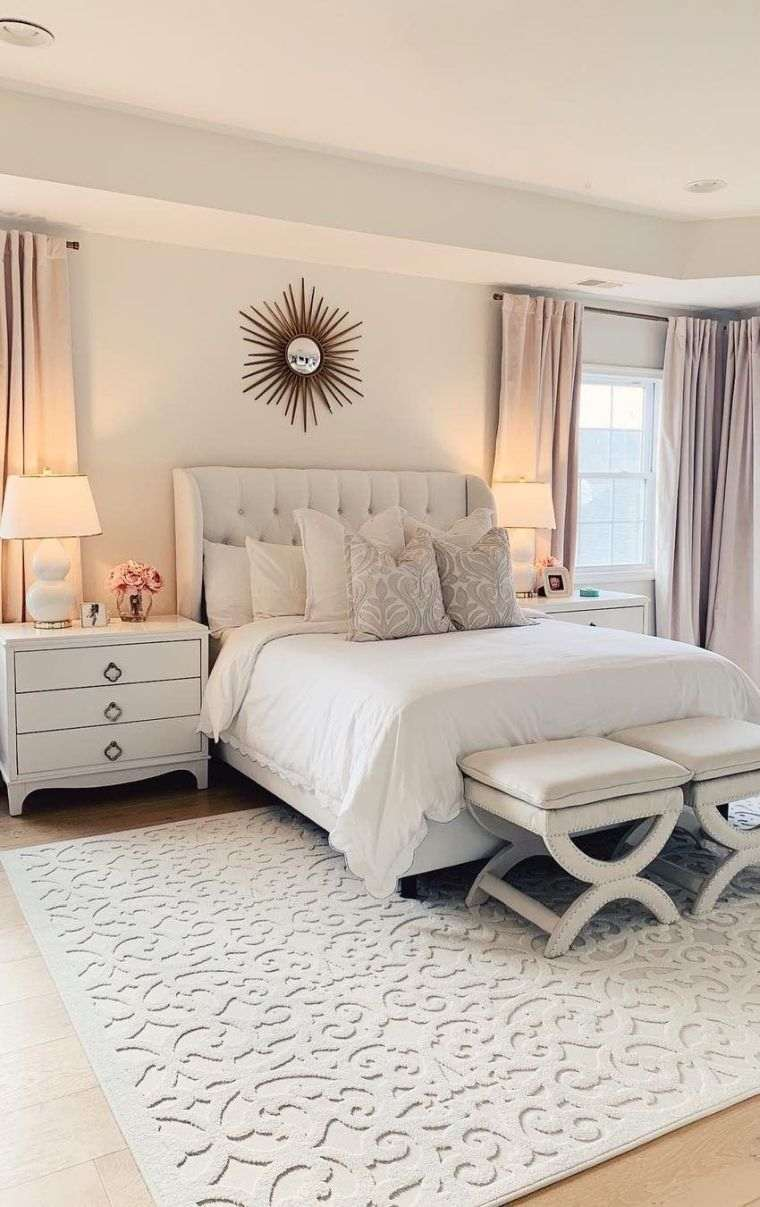 dormitorio-elegante-blanco-ideas