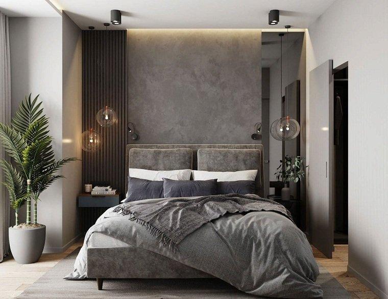 Dormitorios de matrimonio modernos 2021-colores-neutrales-gris