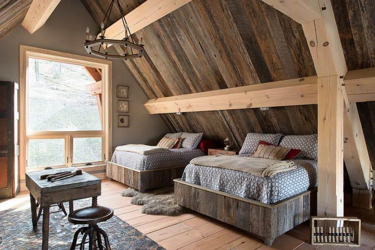 Paneles de madera para paredes interiores dos-camas-ideas-opciones-estilo