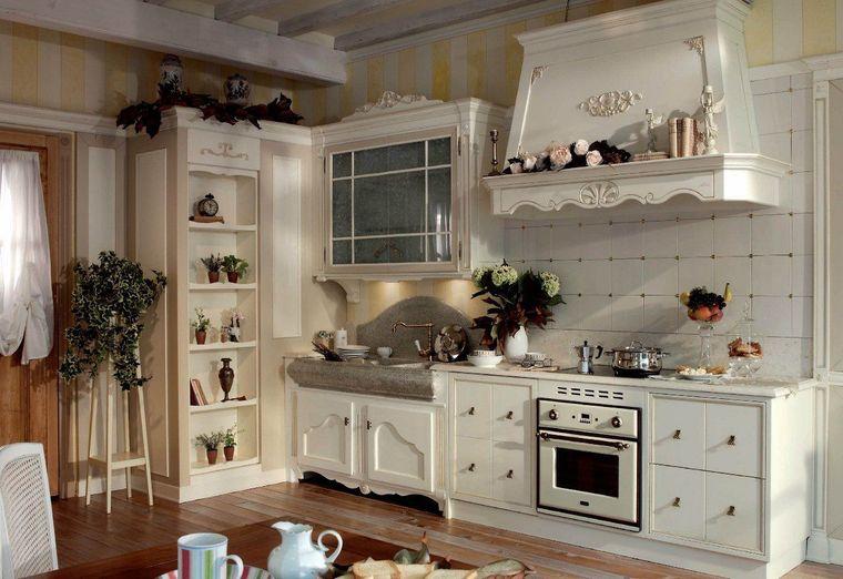 estilos de cocinas diseño acogedor