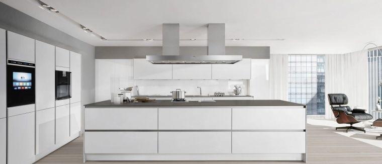 estilos de cocinas en blanco