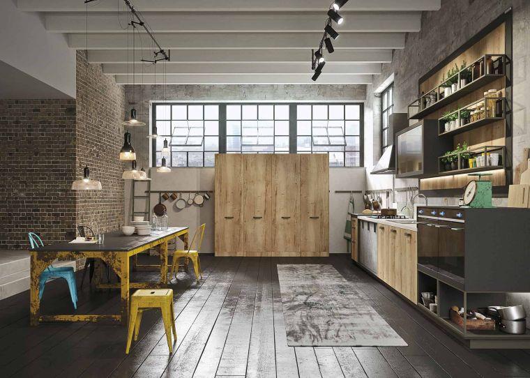 estilos de cocinas lofts